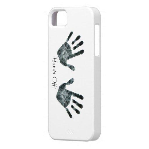 Handdruck für iPhone 5 Fall Schutzhülle Fürs iPhone 5