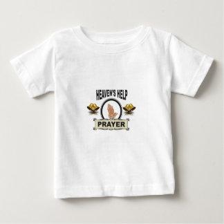 Hände der Hilfe und des Gebets Baby T-shirt