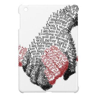 Hände halten, erobert Liebe alle iPad Mini Cover