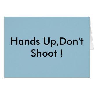 Hände oben, schießen nicht! karte