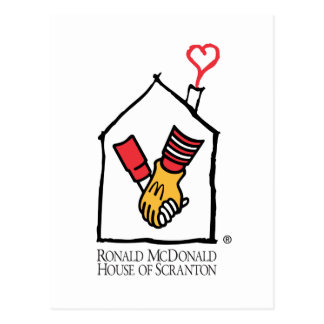 Hände Ronald McDonald Postkarte