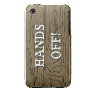 Hände weg iPhone 3 Case-Mate hüllen