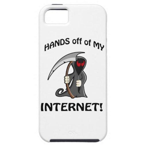 Hände weg meines Internets! Hülle Fürs iPhone 5