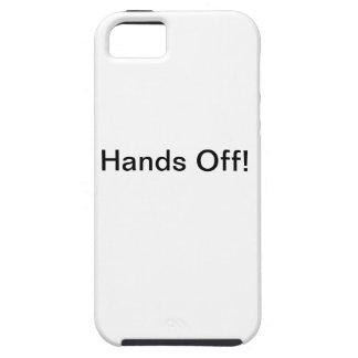 Hände weg von iphone Fall iPhone 5 Cover