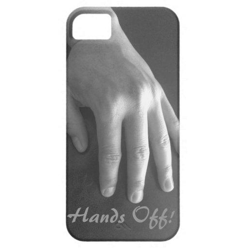 Hände weg von Ipone Fall iPhone 5 Schutzhüllen