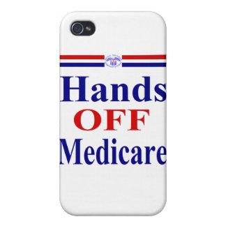 Hände weg von Medicare iPhone 4/4S Hülle