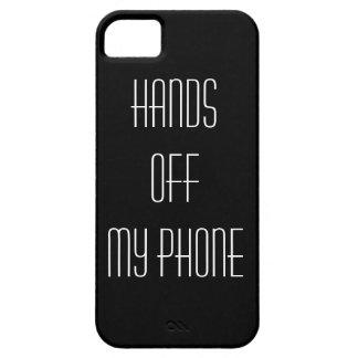 Hände weg von meinem Telefon