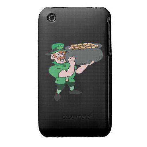 Hände weg von mir Gold Case-Mate iPhone 3 Hüllen
