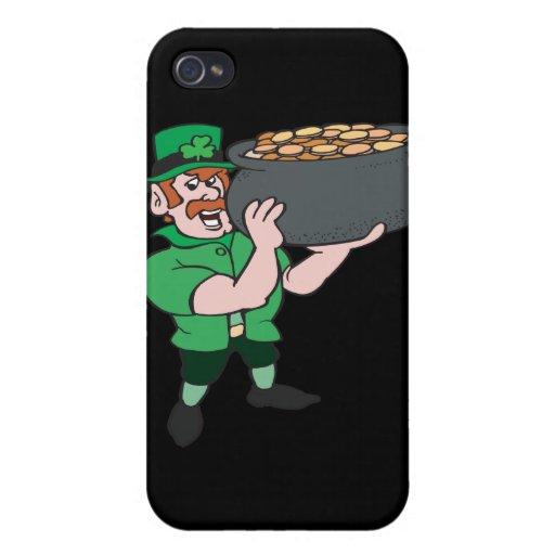 Hände weg von mir Gold Hülle Fürs iPhone 4