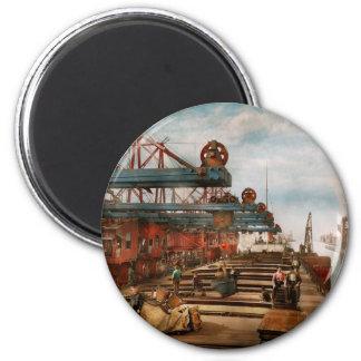 Handel - es ist Eisenerz, das es nichts ist! 1900 Runder Magnet 5,1 Cm