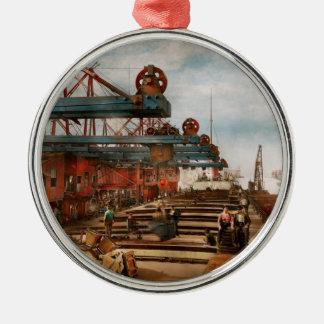 Handel - es ist Eisenerz, das es nichts ist! 1900 Silbernes Ornament