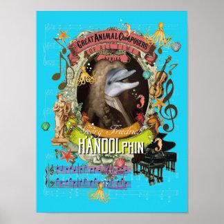 Handel Parodie-Parodie Handolphin Poster