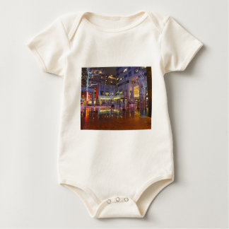 Handel quadratisches Philadelphia nachts Baby Strampler