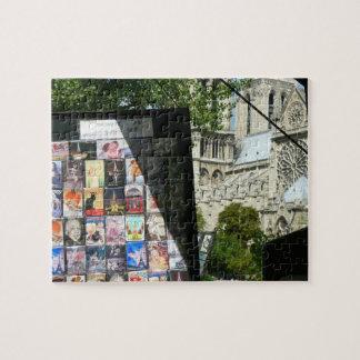 Handelsstall nahe Notre Dame Puzzle