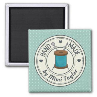 Handgemacht durch Mimi nähenden Magneten Quadratischer Magnet