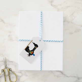 Handgemachte nähende Handwerks-Geschäfts-Umbauten Geschenkanhänger