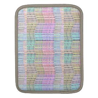Handgemachtes Gewebe-Entwurfs-Muster - Hintergrund iPad Sleeve