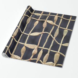 Handgemachtes Seil-Entwurfs-Packpapier Geschenkpapier