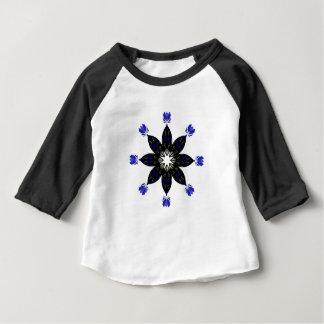 Handgemalte Verzierung Baby T-shirt