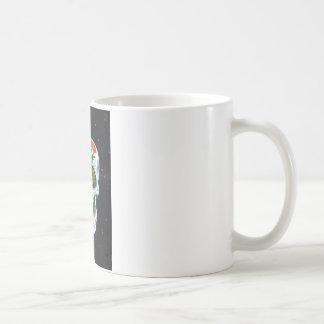 """Handgemalter Zuckerschädel """"Ajax """" Kaffeetasse"""