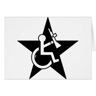 Handicapable Grußkarte
