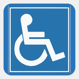 """Handikap-Zeichen 1,5"""" Aufkleber"""