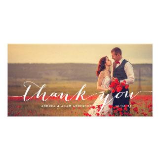 Handschrifts-Skript Wedding | danken Ihnen Bilderkarten
