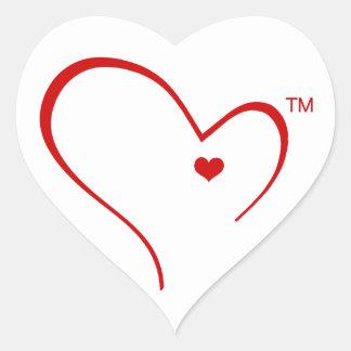 Handschuhe für Detroit-Herz-Logo-Aufkleber Herz-Aufkleber