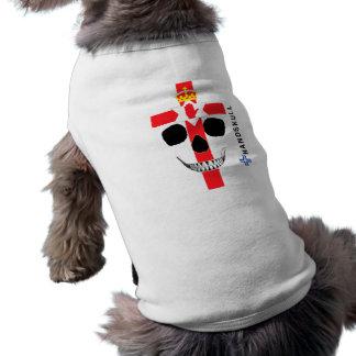 HANDSKULL Nordirland, glücklicher Schädel, T-Shirt