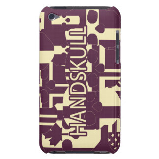 HANDSKULL Purpur - IPod-Touch-Fall kaum Case-Mate iPod Touch Case