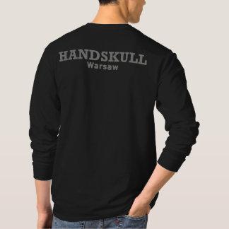 HANDSKULL Warschau - QuerHanes lange Nano-Hülse T-Shirt