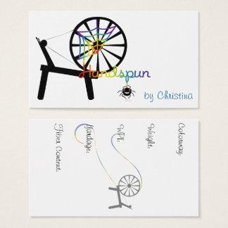 Handspun Faser-Künste Visitenkarten
