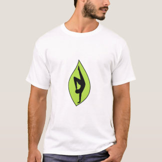Handstand-Silhouette - Bio Yoga-Shirt T-Shirt
