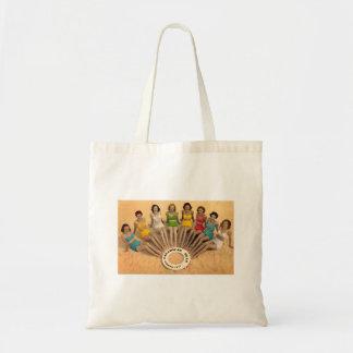 Handtasche Vintage von Caleta Cadiz Klein Budget Stoffbeutel