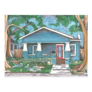 Handwerker durch Thompson Kellett Postkarte