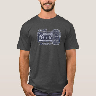 Handwerks-Bier-Brauer - Blau u. Weiß können T-Shirt