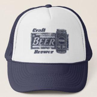 Handwerks-Bier-Brauer - Blau u. Weiß können Truckerkappe