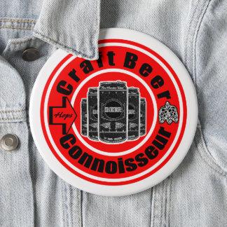 Handwerks-Bier-Kenner Runder Button 15,3 Cm