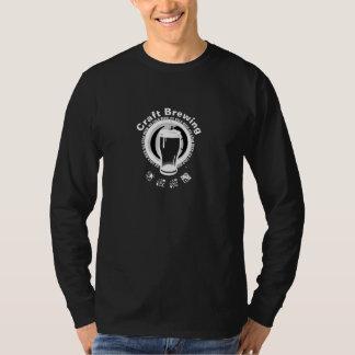 Handwerks-Brauen, schwarz u. Weiß 2 T-Shirt