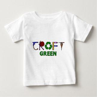 Handwerks-Grün Baby T-shirt