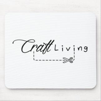 Handwerks-lebendes Logo Mousepad
