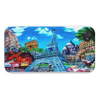 Handy Cover Hülle Paris I Phone 4 Mate Finish Case Etui Fürs iPhone 4