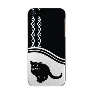 Handyfall der schwarzen Katze Incipio Feather® Shine iPhone 5 Hülle