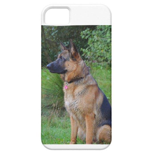 Handyhülle deutscher Schäferhund iPhone 5 Etui