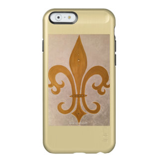 "Handyhülle shine gold ""Goldene Lilie"" Incipio Feather® Shine iPhone 6 Hülle"