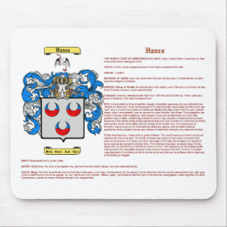 Hanes (Bedeutung) Mauspads