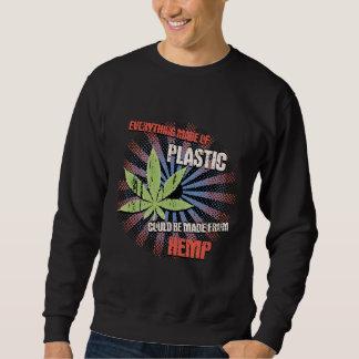 Hanf-Plastik Sweatshirt