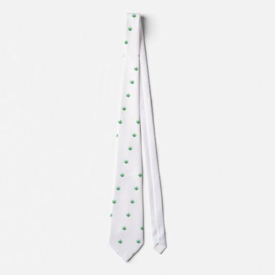 Hanfblatt Individuelle Krawatte