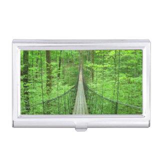 Hängebrücke Visitenkarten Etui