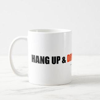 Hängen Sie oben u. fahren Sie! Kaffeetasse